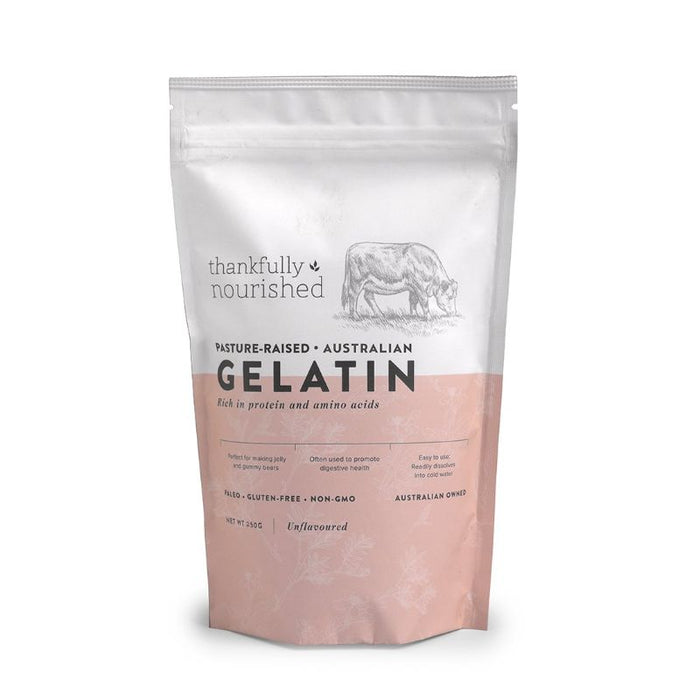 Thankfully Nourished Gelatin Pasture Raised Australian 150g