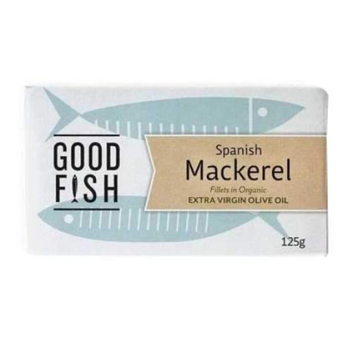 Good Fish Alaskan Mackerel in Extra Virgin Org Olive Oil