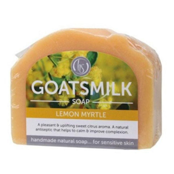 Goatsmilk Soap Lemon Myrtle Exfoliation 140g