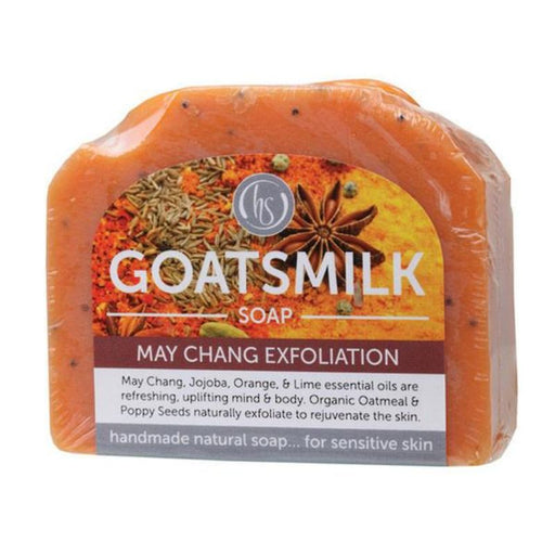 Goatsmilk Soap May Chang Exfoliation 140g