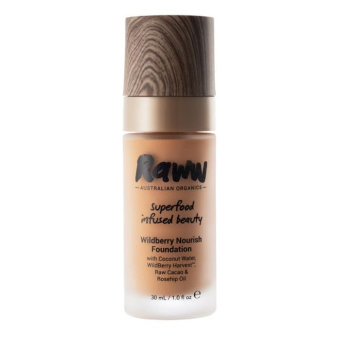 Raww Wildberry Nourish Liquid Foundation Certified Organic