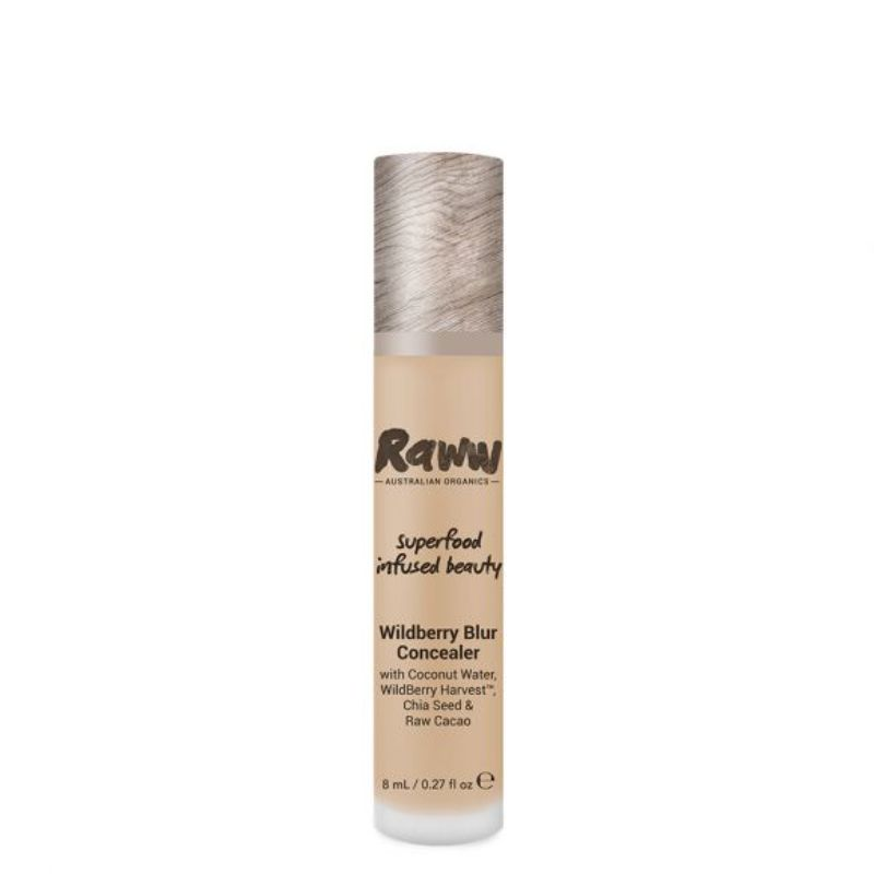 Raww Wildberry Blur Concealer Honey Bronze Certified Organic