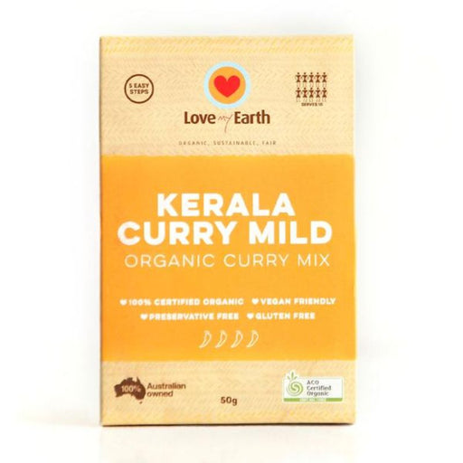Kerala Curry Mild Curry Mix Certified Organic