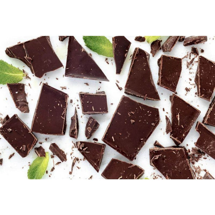Deep Dark Crisp Mint Chocolate Bar Certified Organic