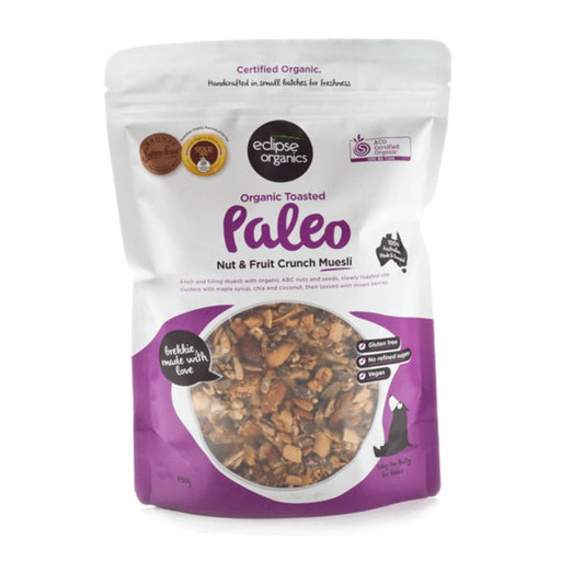 Muesli Paleo Fruit and Nut Crunch Certified Organic