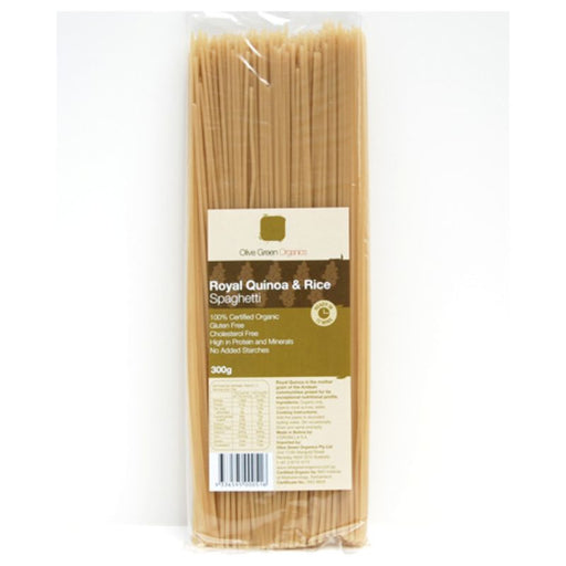 Olive Green Organics Royal Quinoa & Rice Spaghetti