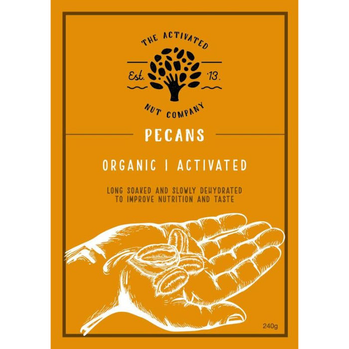 Activated Pecans 240g Certified Organic