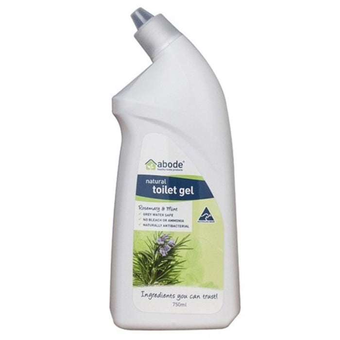 Abode Timber Natural Toilet Gel Rosemary & Mint 750ml