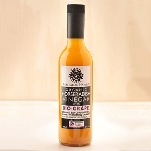 Horseradish Vinegar With Bio-Grape Certified Organic 350ml
