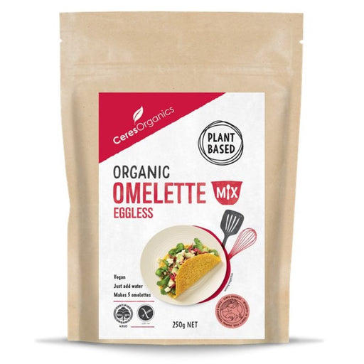 Omelette Mix, Egg-less (plant based) Ceres Organic 250g