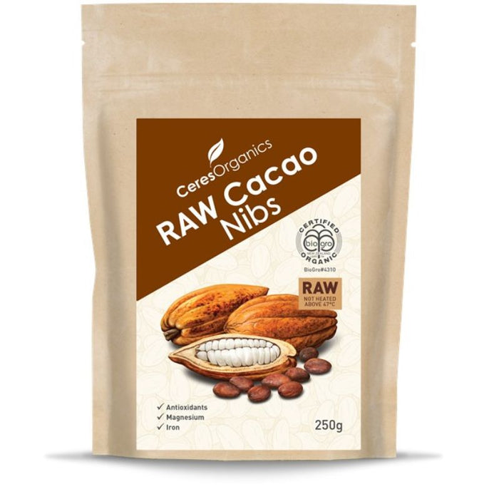 Cacao Nibs 250g Certified Organic