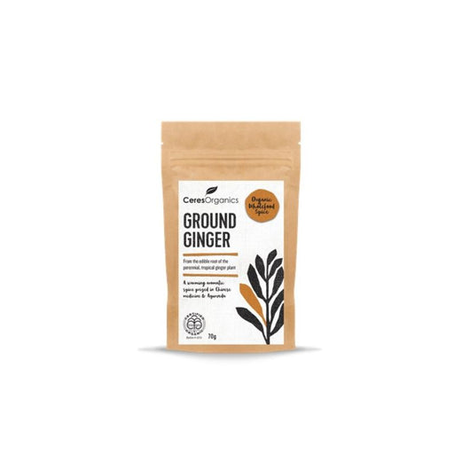 Ground Ginger 70g Certified Organic