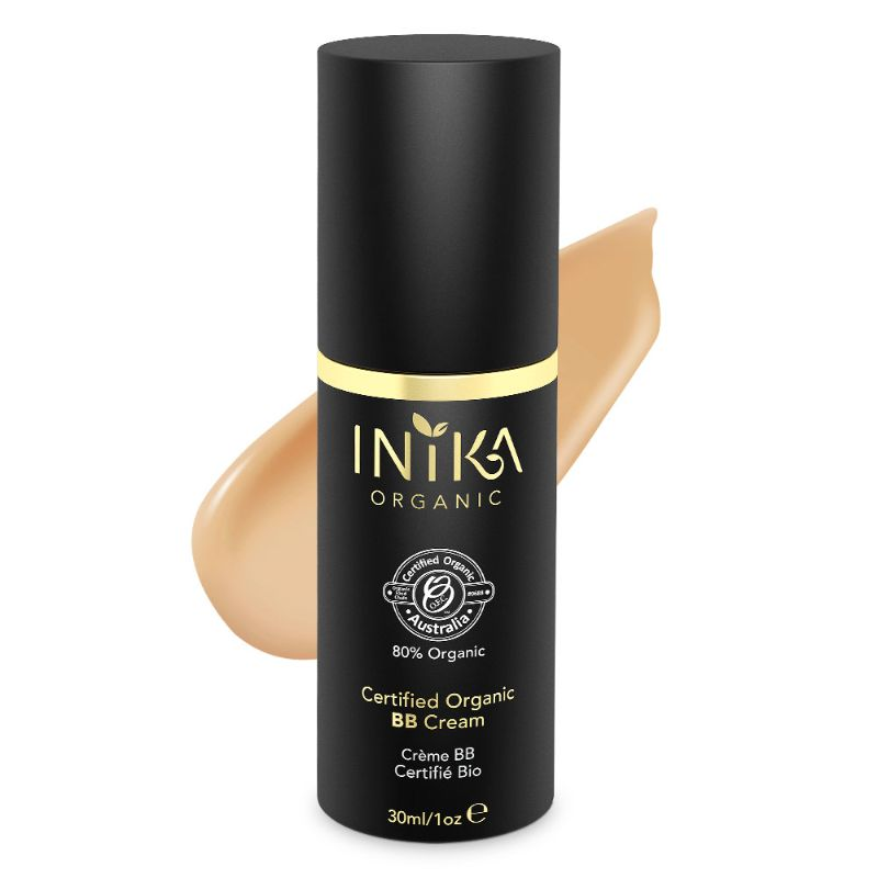 Inika BB Cream Tan Certified Organic 30ml