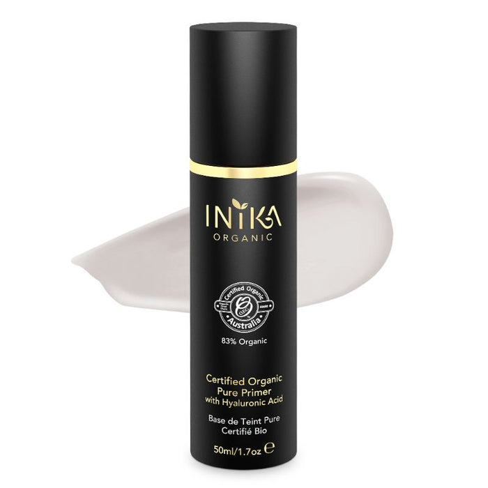 Inika Pure Primer with Hyaluronic Acid Certified Organic 50ml