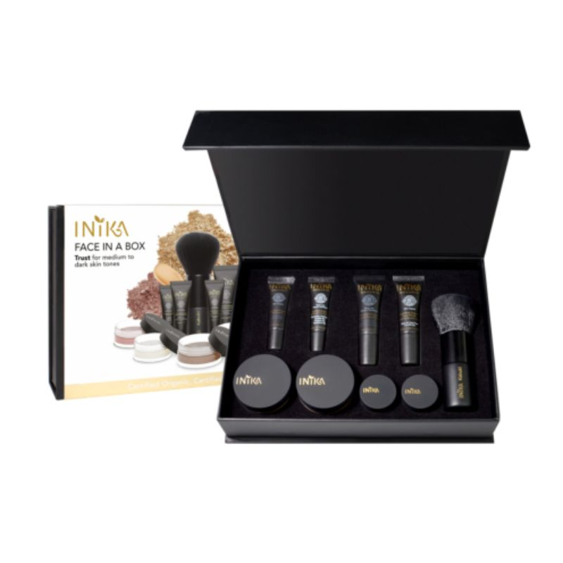 Inika Face in a Box Trust - The Essentials Starter Kit Certified Organic