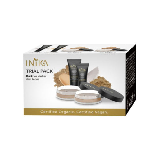 Inika Trial Pack Dark Certified Organic