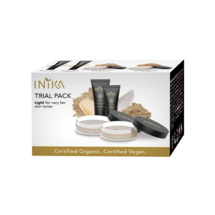 Inika Trial Pack Light Certified Organic