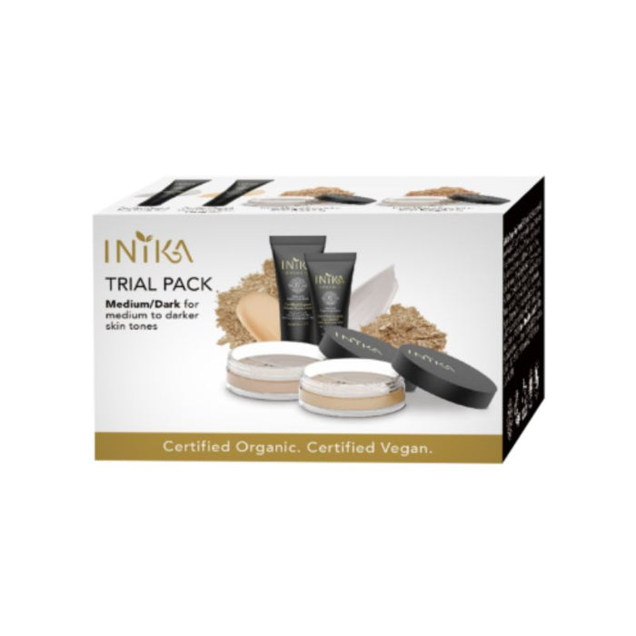 Inika Trial Pack Medium/Dark Certified Organic