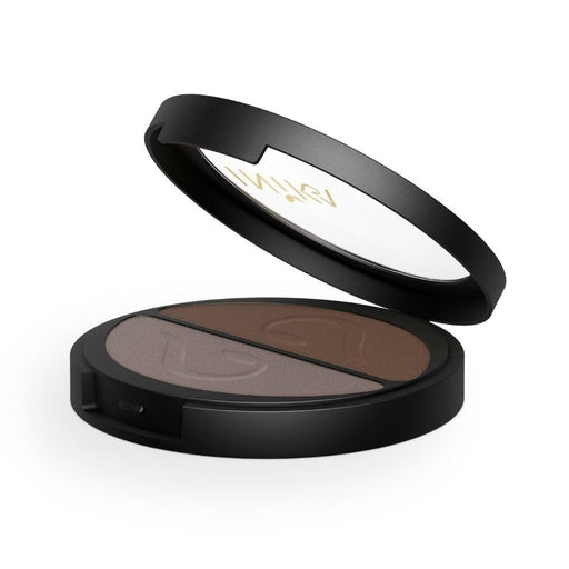 Inika Pressed Mineral Eye Shadow Duo Certified Organic