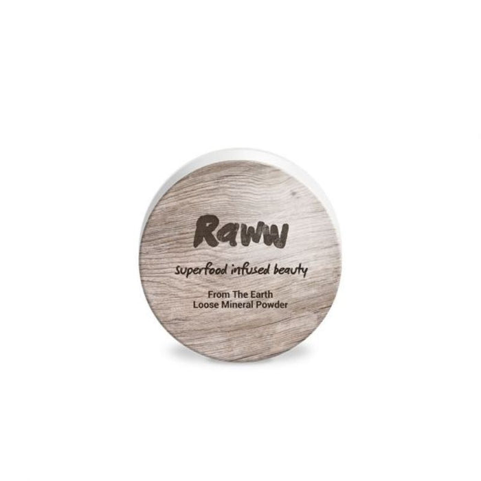 Raww From The Earth Loose Mineral Powder Certified Organic
