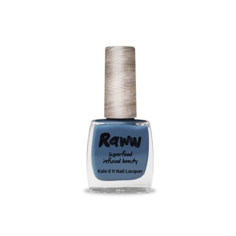Raww Kale'd It Nail Lacquer Bathed in Blueberries Certified Organic