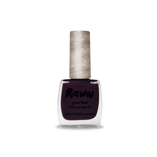 Raww Kale'd It Nail Lacquer Blackberry Jammin Certified Organic