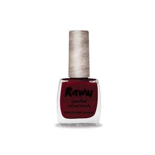 Raww Kale'd It Nail Lacquer Dark Raw Cherry Certified Organic