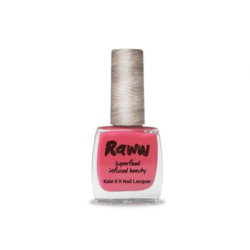 Raww Kale'd It Nail Lacquer Guava Outta Here Certified Organic