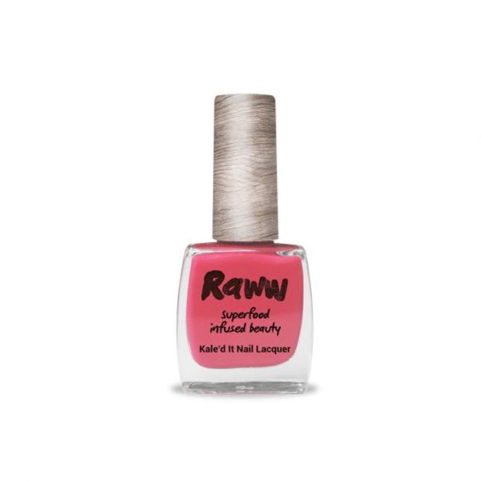 Raww Kale'd It Nail Lacquer Dusty Roseship Certified Organic