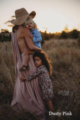 Dusty Pink Anna Multiway Maternity Gown