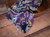 Stretch Knit Floral Wraps
