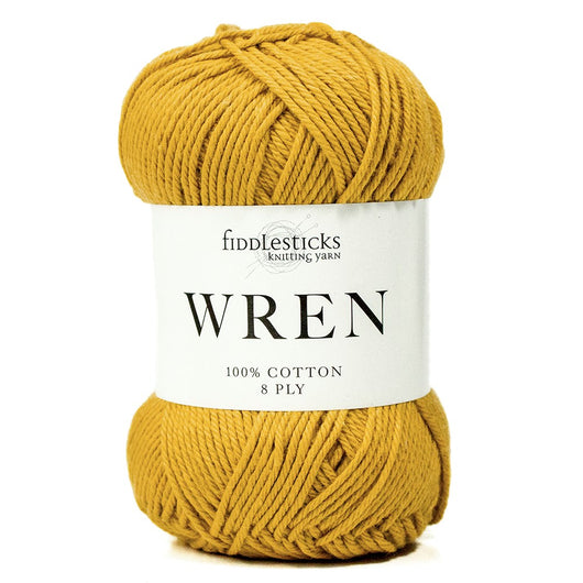 Fiddlesticks Wren - 100% Cotton Yarn