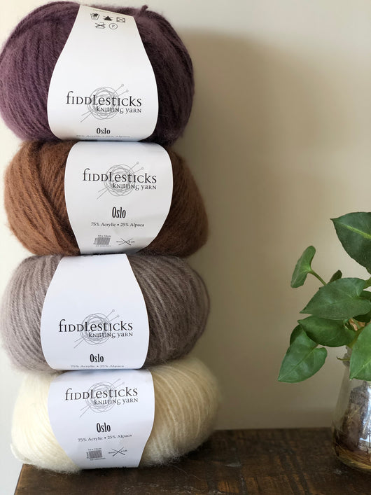 Fiddlesticks Oslo - Alpaca Blend Yarn