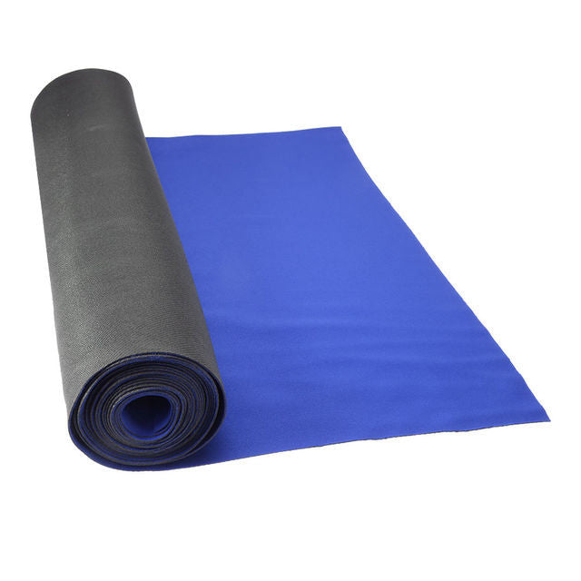 "27"" x 15' x 1.5mm Blue Neoprene Floor Protector Roll - Bulldog Trading inc"