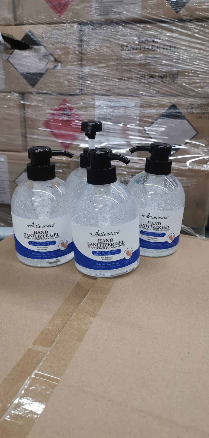 Hand Sanitizer 24 bottles 500ml - Bulldog Trading inc