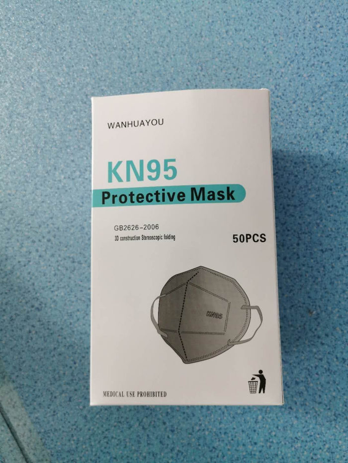 KN95 NON MEDICAL MASKS 50 PACK - Bulldog Trading inc
