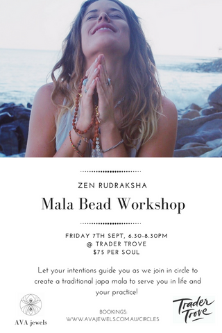 Ava Jewels Mala Workshop