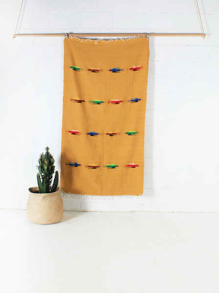 Sun Bird WOVE Mexican Blanket