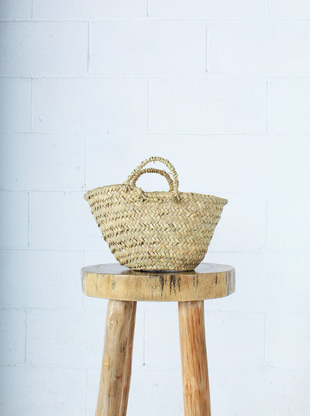 Moroccan Small Grass Basket