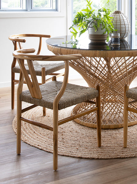 Replica Wishbone Woven Chair