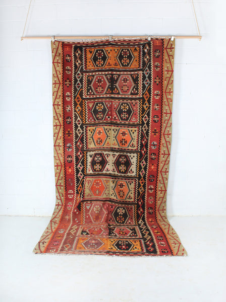Turkish Delight Oushak Kilim Rug 330x160
