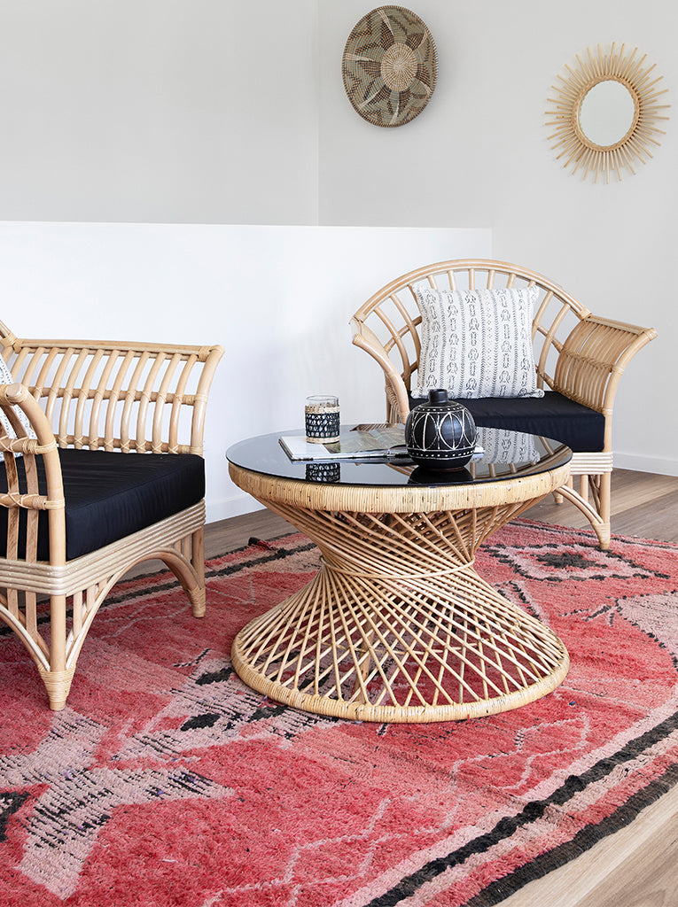 Picture of: Kahala Rattan Coffee Table Trader Trove