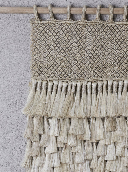 Dharma Door Jute Wall Hanging - Small