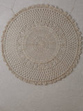 Dharma Door Jute Mandala Wall Hanging - Small
