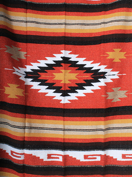 Fire WOVE Mexican Blanket