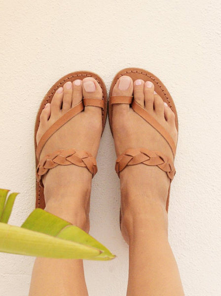 GAIA Soul Designs Sandals ~ Griegas Tan