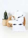 Nautical Bird WOVE Mexican Blanket