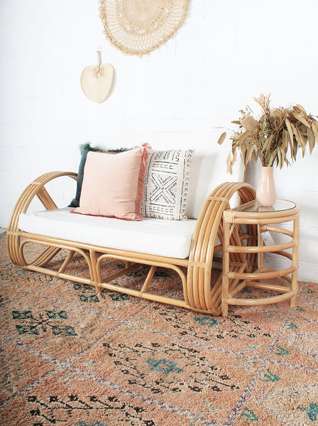 Pretzel Crescent Side Table