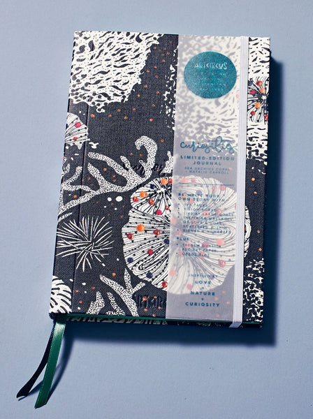 Art Circus Curiosities Limited-Edition Journal – Sea Urchins Coral