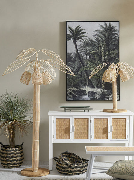 Palmilla Natural Floor Lamp